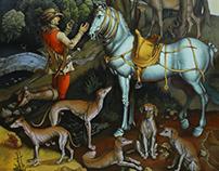 Dürer Saint Eustace