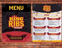 king ribs logo