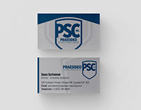 Praesideo Security Consulting Business Card