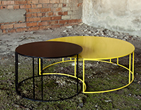 Solar eclipse table by Line Design studio.