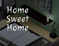 Home Sweet Home   Isometric Room