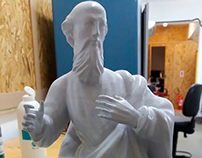 Saint Peter Statue 3D Print