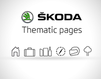 Škoda - thematic pages