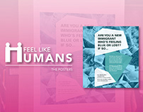 Feel Like Humans: Output 1 - Posters