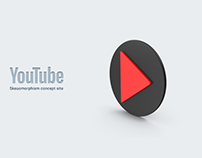 Youtube web site redesign concept