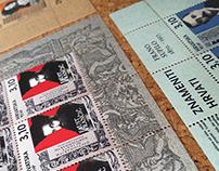 Postage stamps 'Znameniti Hrvati' 'Eminent Croats'