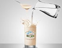 Almondie Almond Butter Graphic Design