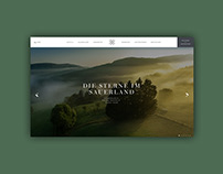 Website Die Sterne im Sauerland