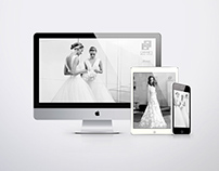 Carine´s Bridal Atelier Website Design