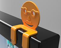 mFace monitor decor