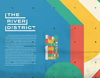 The River District Chamber of Commerce Identity Design