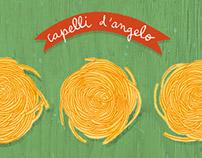 Famous pasta shapes