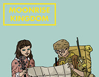 Wes Anderson Film Illustrations