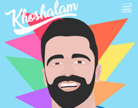 Sirvan Khosravi Khoshhalam Fan art