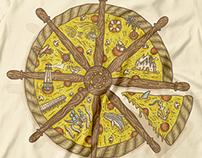 CheeSea Pizza on Threadless