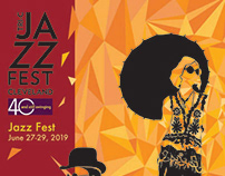 Poster for Jazz Fest