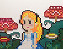 Alice in RPG / Pixel Art
