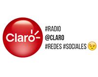 RADIO Claro · Redes Sociales