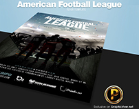 American Football League Flyer Template