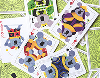 Koala Royals: An Illustrated Deck of Playing Cards