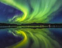 Northern Lights around the Vik - 2016
