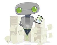 Zip the HR assistant robot