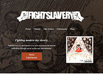 FightSlavery Redesign 2