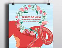 CARTELL FESTES DE MAIG - Colla del Drac Poblenou