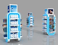 Gillette H&S Multibrand Stand