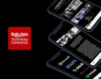 Rakuten Tech Conference - Application