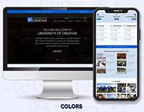 Web UI Template Design