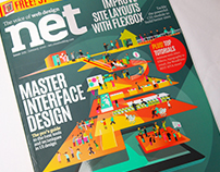 Net Magazine Cover Illustration