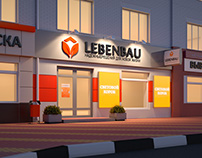 Shop entrance design