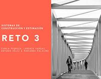 Sistemas de construcción y estimación/Reto 3