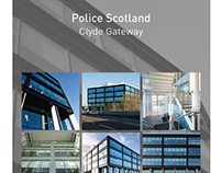 Police Scotland pull-up banners