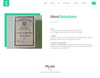 SebastianoRiva.it Website Portfolio