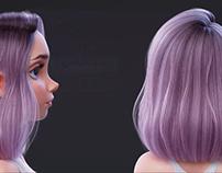 Hair Tutorial (3D modeling)