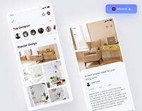 Interior Design App - (Freebie)