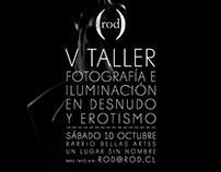 V Taller de fotografía de desnudo, Santiago Chile