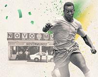 Linha do tempo Novo Mundo nas Copas