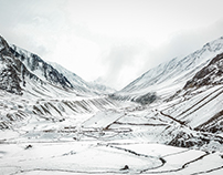 Spiti in Feb_Whiteout