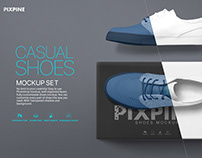 Shoes PSD Mockup - Casual Shoes