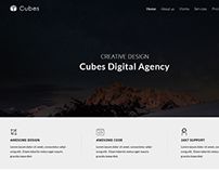 Digital Agency Website Template