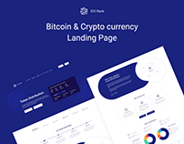 Bitcoin & Crypto currency Landing Page