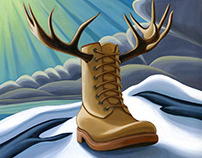 Kodiak Boot - Group of Seven Style