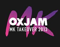 Oxjam MK Takeover 2013 | Branding