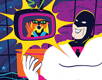 Space Ghost Promotional Poster