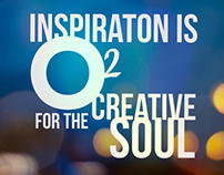 Inspiration is oxygen for the creative soul