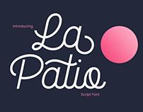 La Patio - Script Font