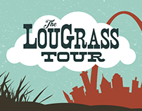 The LouGrass Tour Poster